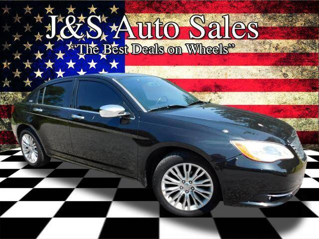 2011 Chrysler 200 for sale at J & S Auto Sales in Clarksville TN