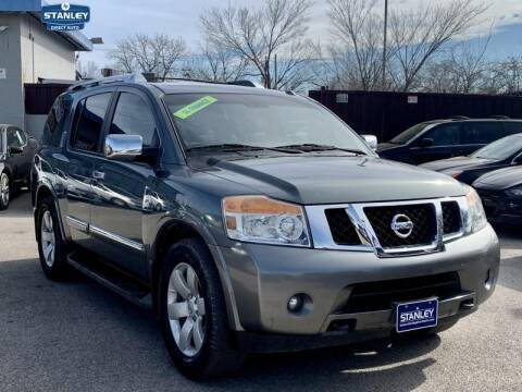 2013 Nissan Armada for sale at Stanley Automotive Finance Enterprise - STANLEY DIRECT AUTO in Mesquite TX