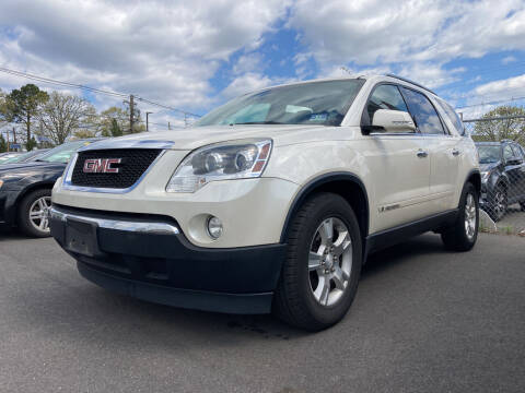 2008 GMC Acadia for sale at Michaels Used Cars Inc. in East Lansdowne PA