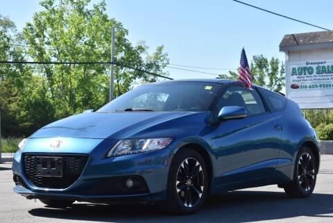 2014 Honda CR-Z for sale at GREENPORT AUTO in Hudson NY