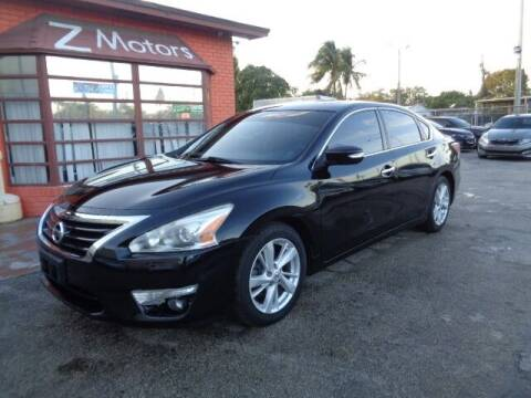 2014 Nissan Altima for sale at Z MOTORS INC in Hollywood FL