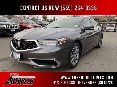 2018 Acura TLX for sale at Carros Usados Fresno in Fresno CA