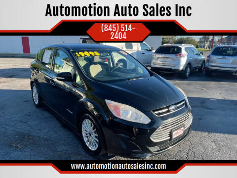 2014 Ford C-MAX Hybrid for sale at Automotion Auto Sales Inc in Kingston NY