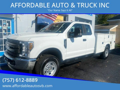 2018 Ford F-350 Super Duty for sale at AFFORDABLE AUTO & TRUCK INC in Virginia Beach VA