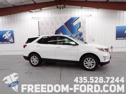 2020 Chevrolet Equinox for sale at Freedom Ford Inc in Gunnison UT