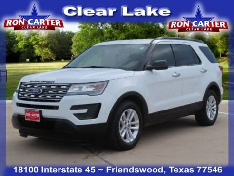 2017 Ford Explorer for sale at Ron Carter  Clear Lake Used Cars in Houston TX