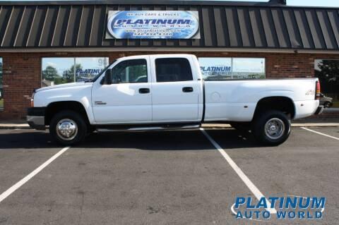 2004 Chevrolet Silverado 3500 for sale at Platinum Auto World in Fredericksburg VA