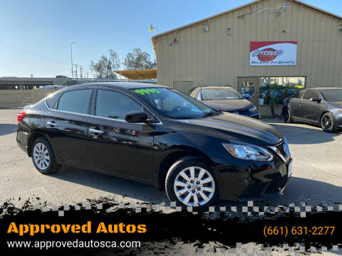 2016 Nissan Sentra for sale at Approved Autos in Bakersfield CA