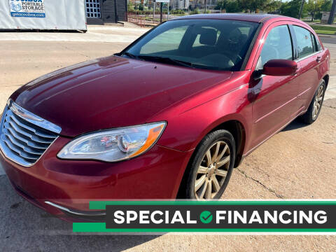 2013 Chrysler 200 for sale at Automay Car Sales in Oklahoma City OK
