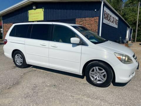2007 Honda Odyssey for sale at Kansas Car Finder in Valley Falls KS
