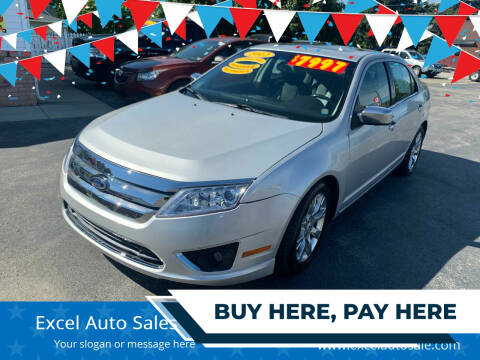 2012 Ford Fusion for sale at Excel Auto Sales LLC in Kawkawlin MI