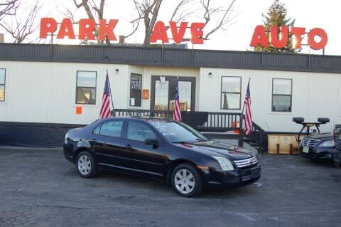 2006 Ford Fusion for sale at Park Ave Auto Inc. in Worcester MA