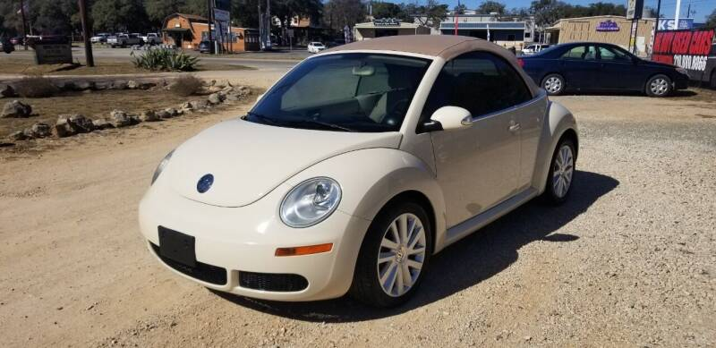2008 Volkswagen New Beetle Convertible for sale at STX Auto Group in San Antonio TX