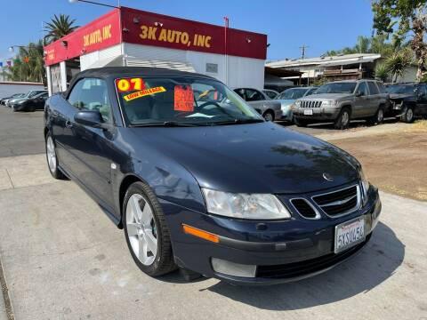 2007 Saab 9-3 for sale at 3K Auto in Escondido CA