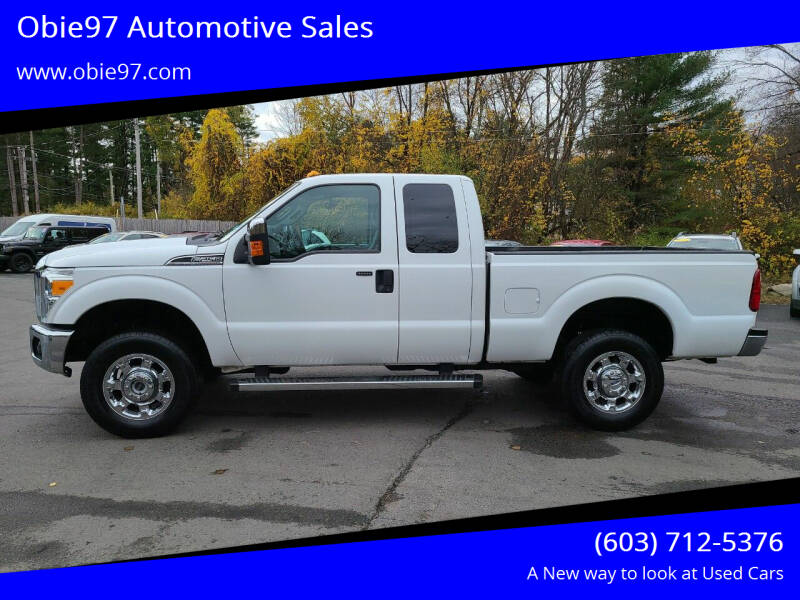 2016 Ford F-250 Super Duty for sale at Obie97 Automotive Sales in Londonderry NH