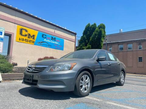 2011 Honda Accord for sale at Car Mart Auto Center II, LLC in Allentown PA