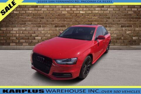 2014 Audi A4 for sale at Karplus Warehouse in Pacoima CA