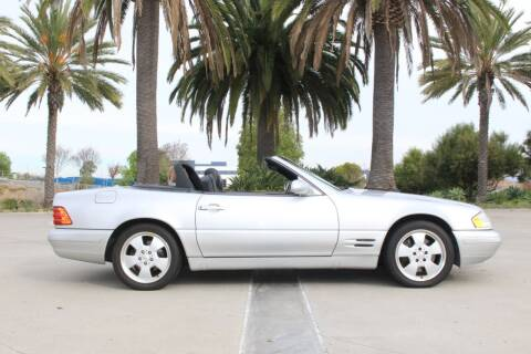 2000 Mercedes-Benz SL-Class for sale at Miramar Sport Cars in San Diego CA