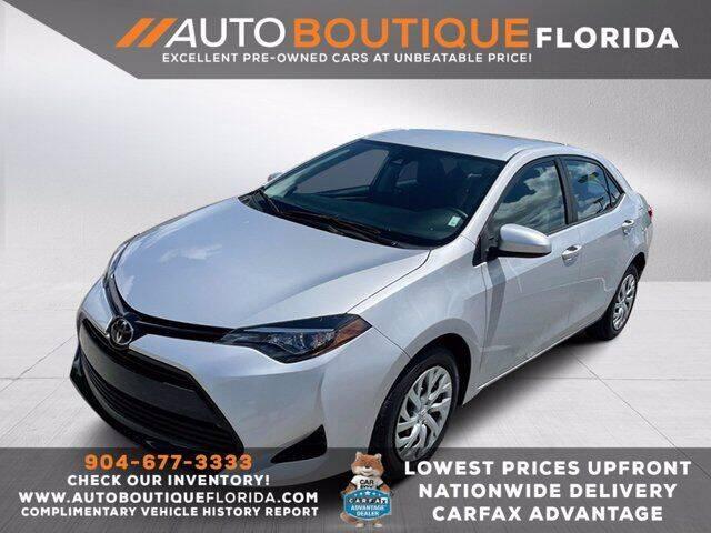 2017 Toyota Corolla for sale in Jacksonville, FL