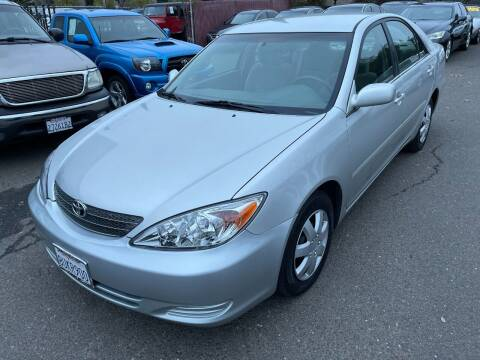 2003 Toyota Camry for sale at C. H. Auto Sales in Citrus Heights CA