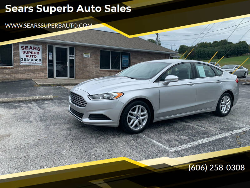 2015 Ford Fusion for sale at Sears Superb Auto Sales in Corbin KY