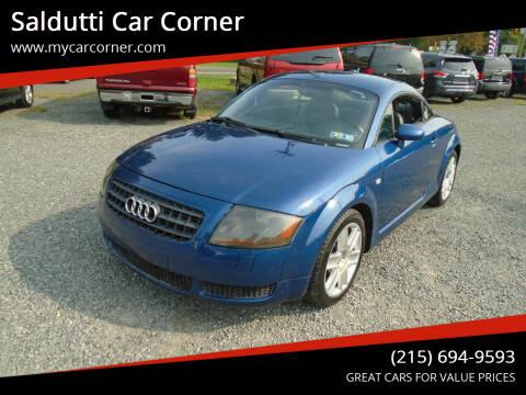 2005 Audi TT for sale at Saldutti Car Corner in Gilbertsville PA
