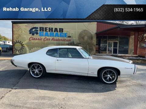 1969 Pontiac Le Mans for sale at Rehab Garage, LLC in Tomball TX