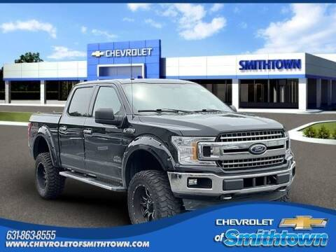 2018 Ford F-150 for sale at CHEVROLET OF SMITHTOWN in Saint James NY