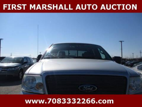 2005 Ford F-150 for sale at First Marshall Auto Auction in Harvey IL