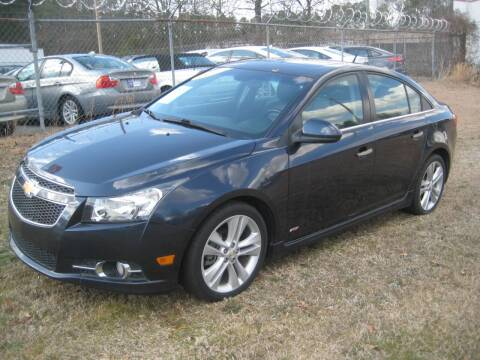2014 Chevrolet Cruze for sale at Carland Enterprise Inc in Marietta GA