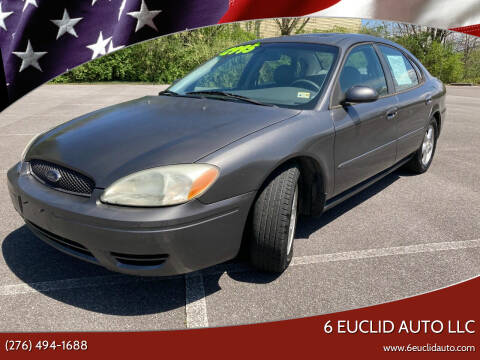 2004 Ford Taurus for sale at 6 Euclid Auto LLC in Bristol VA