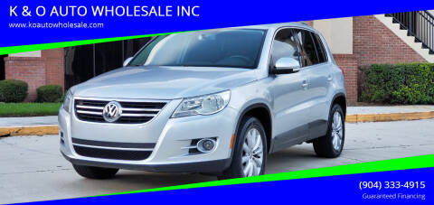 2011 Volkswagen Tiguan for sale at K & O AUTO WHOLESALE INC in Jacksonville FL
