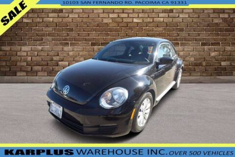2014 Volkswagen Beetle for sale at Karplus Warehouse in Pacoima CA