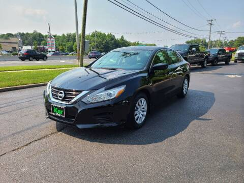 2018 Nissan Altima for sale at iCar Auto Sales in Howell NJ