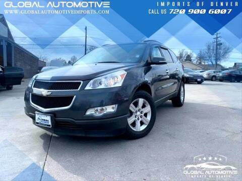 2012 Chevrolet Traverse for sale at Global Automotive Imports of Denver in Denver CO