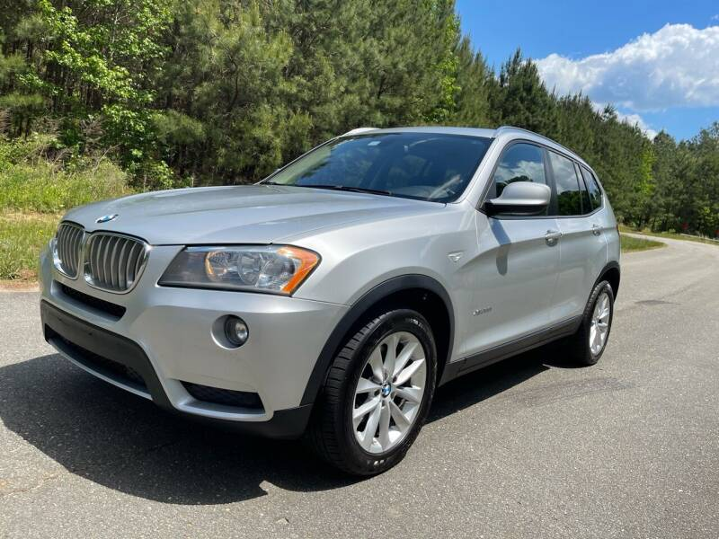 2014 BMW X3 for sale at Carrera AutoHaus Inc in Clayton NC