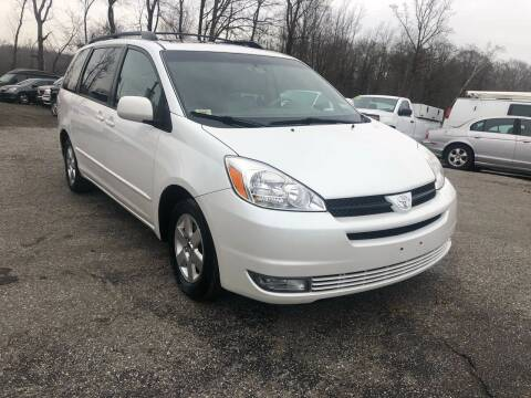 2004 Toyota Sienna for sale at Bowie Motor Co in Bowie MD