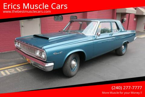 1965 Dodge HEMI Coronet for sale at Erics Muscle Cars in Clarksburg MD