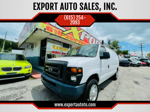 2013 Ford E-Series Cargo for sale at EXPORT AUTO SALES, INC. in Nashville TN