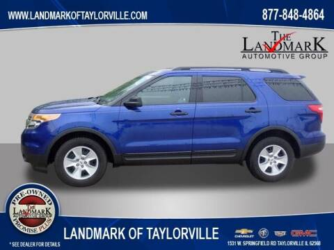2014 Ford Explorer for sale at LANDMARK OF TAYLORVILLE in Taylorville IL