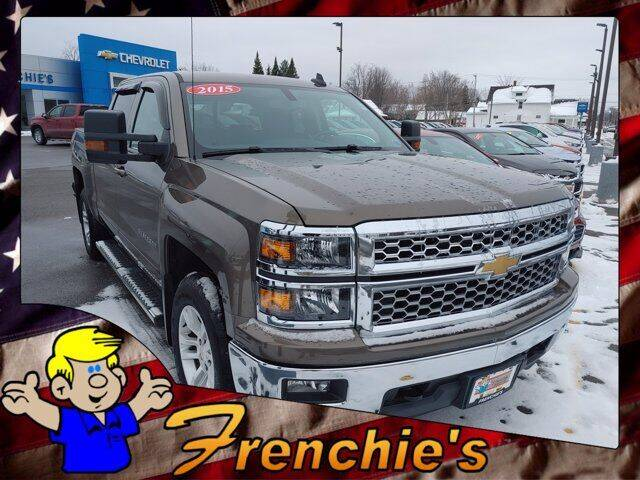 2015 Chevrolet Silverado 1500 for sale at Frenchie's Chevrolet and Selects in Massena NY