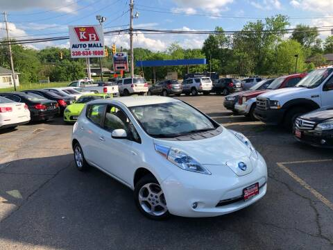 2012 Nissan LEAF for sale at KB Auto Mall LLC in Akron OH