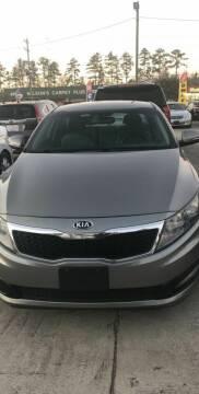 2013 Kia Optima for sale at Gralin Hampton Auto Sales in Summerville SC