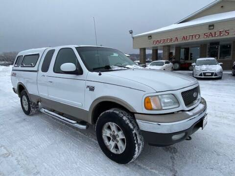 2002 Ford F-150 for sale at Osceola Auto Sales and Service in Osceola WI