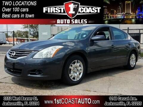 2012 Nissan Altima for sale at 1st Coast Auto -Cassat Avenue in Jacksonville FL