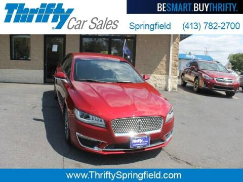 2017 Lincoln MKZ for sale at Thrifty Car Sales Springfield in Springfield MA