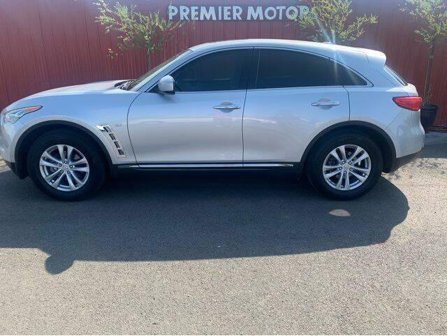 2017 Infiniti QX70 for sale at Premier Motors in Milton Freewater OR
