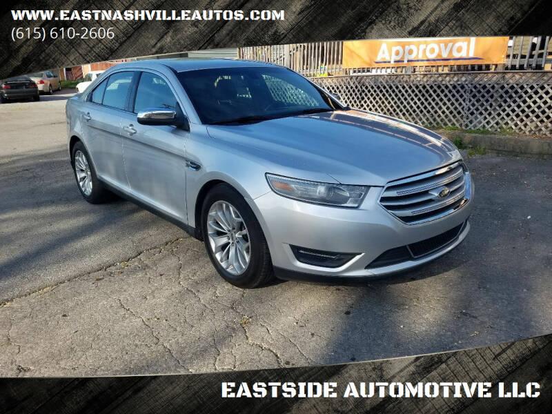 2015 Ford Taurus for sale at EASTSIDE AUTOMOTIVE LLC in Nashville TN