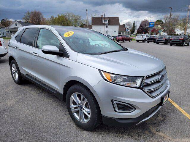 2016 Ford Edge for sale at Frenchie's Chevrolet and Selects in Massena NY