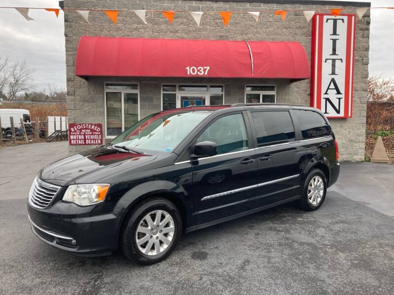 2016 Chrysler Town and Country for sale at Titan Auto Sales LLC in Albany NY